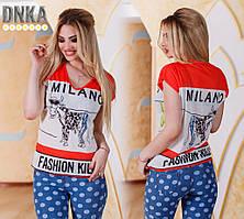 "Женская футболка ""Milano"""
