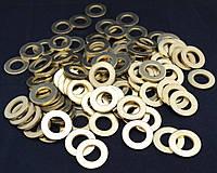 Шайба Ф3 ГОСТ 11371-78, DIN 125 плоская из латуни