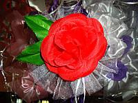 Бутон розы красный на ручку авто
