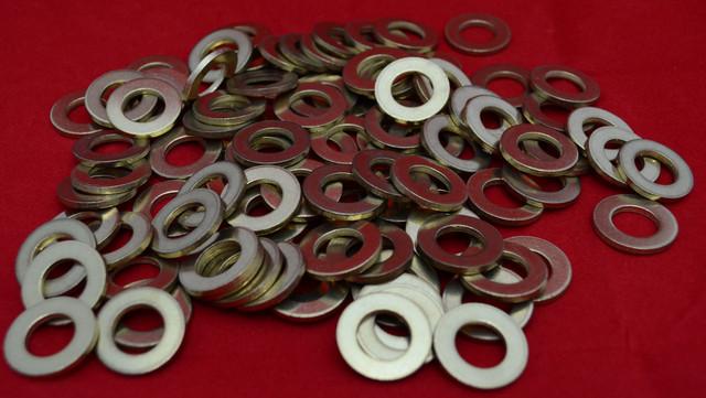 Шайбы плоские из латуни ГОСТ 11371-78, DIN 125   Фотографии принадлежат предприятию Крепсила