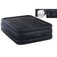Велюровая кровать надувная прямоугольная Intex 64440