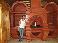 Арку из кирпича изготовить на заказ. Строительство арок из кирпича. кирпичная арка