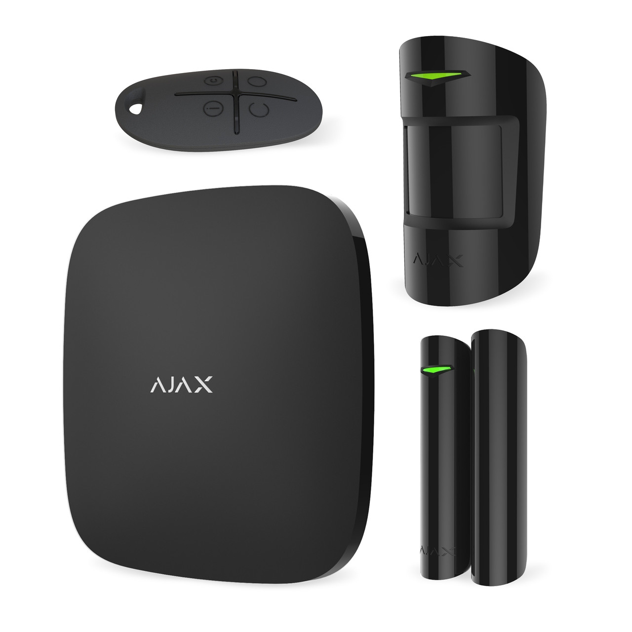 Комплект сигнализации Ajax StarterKit Black (Черный)