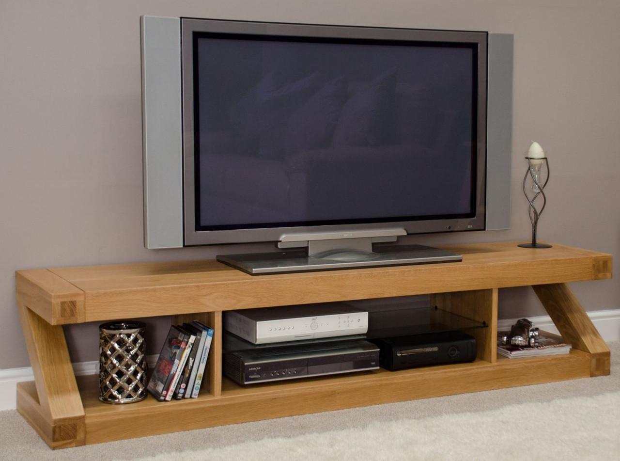 Тумба под телевизор из дерева 021