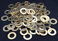 Шайба Ф24 ГОСТ 11371-78, DIN 125 плоская из латуни