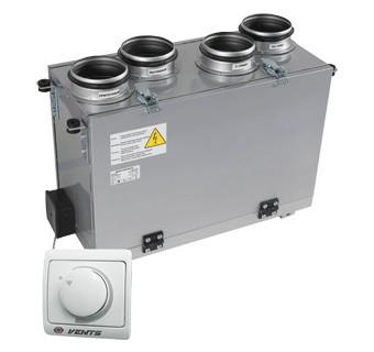 Приточно-вытяжная установка ВЕНТС ВУТ мини ЕС (В) 300