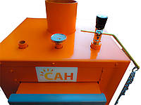 Котлы длительного горения на твердом топливе САН Эко У-М (4 мм) 13 квт + Механический регулятор тяги.