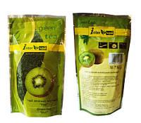 Киви - зелёный ароматизированный чай 100 г