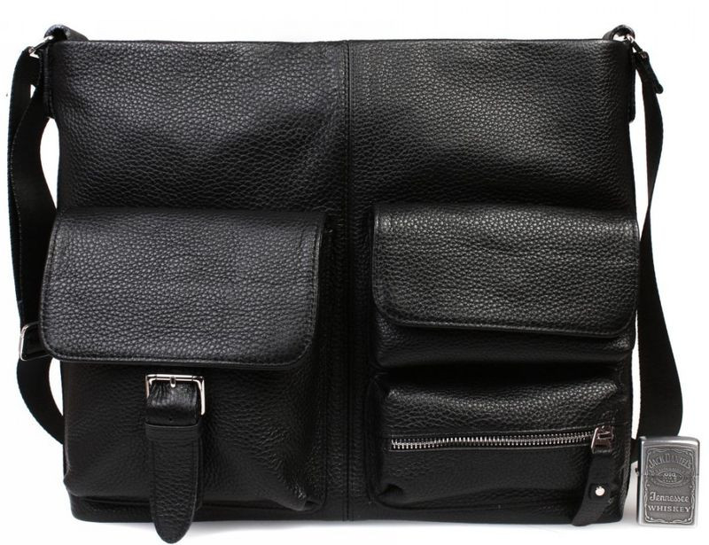 41fcaa2b1cad Кожаная сумка для документов А4 и ноутбука Alvi av-298 — только ...