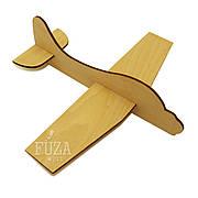 Игрушка самолетик деревянный разборной