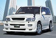 Аэродинамические накладки на пороги Toyota LC-100