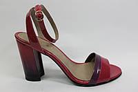 Женские лаковые босоножки ТМ Камея, фото 1