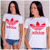 Женская футболка Adidas v-06113
