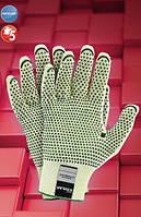 Перчатки защитные от порезов, трикотажные RJ-KEVLAFIBV, фото 1