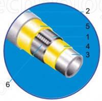 Труба ППР ASG-plast композитная 25