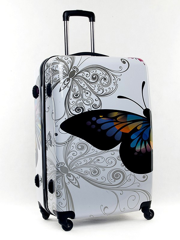 Набор чемоданов Bagia Tokyo. 3 в 1 (Бабочка)