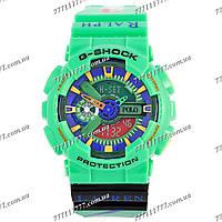 Часы мужские наручные Casio GA-110 Ralph Lauren Green