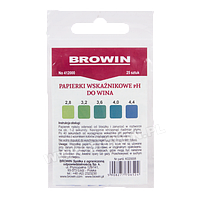 Индикаторная бумага pH для вина - лакмусовая, 25шт.