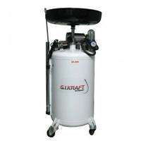 Замена смазки и жидкостей Установка для замены масла с пневмонасосом G.I. KRAFT HD-806 (80л)