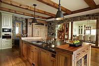 Деревянная мебель  кухни