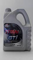 Моторное масло FUCHS TITAN GT 1 5W40 XTL 4L для автомобиля синтетика