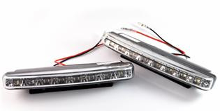 Дневные ходовые огни MC-DRL-1 8LED (L:155mm,H: 35.60mm D:17.8mm)