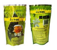Жасмин - зелёный ароматизированный чай 100 г (зелёный жасминовый чай, чай с жасмином)