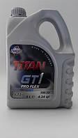 Моторное масло FUCHS TITAN GT 1 PRO FLEX 5W30 XTL 4L для автомобиля синтетика