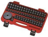 Набор оправок для выпрессовки подшипников, втулок, сальников JTC 18-65мм 4856