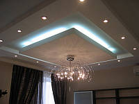Строители изготовят фигурные, объемные потолки любой сложности на заказ