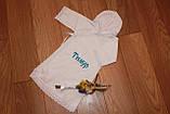 Именная рубашка для крещения, фото 2