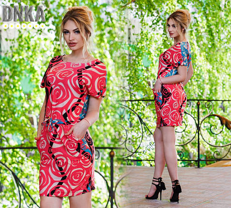 Повседневное платье с карманами, фото 2