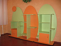 Детская стенка Гусеничка 3050-350-1400