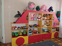 Детская стенка Автомобиль 2800-350-1500