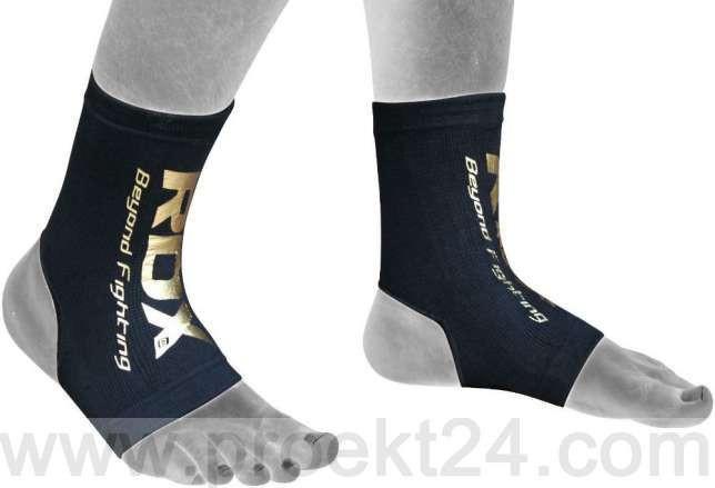 Защита голеностопа RDX Black New-XL