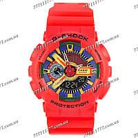 Часы мужские наручные Casio GA-110 Red