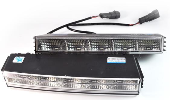 Дневные ходовые огни MC-DRL-7-1 (L:221mm,H: 75mm D:30mm)