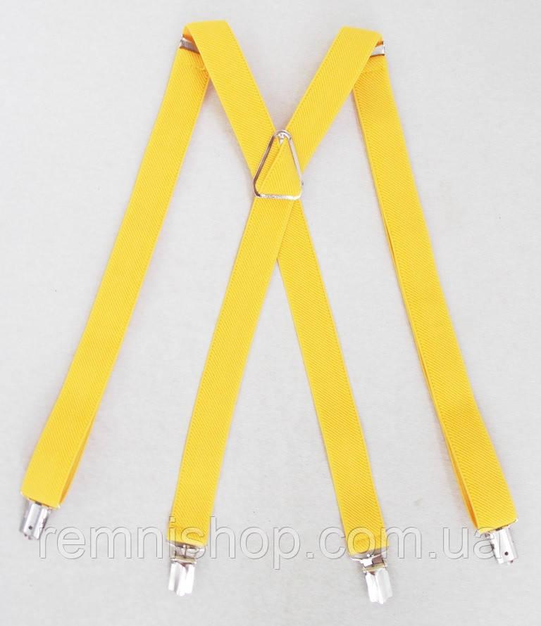 Жіночі жовті підтяжки