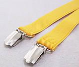 Жіночі жовті підтяжки, фото 3