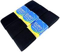 """Резинки для одежды """"EuroTextile"""" (50mm/5m) черные, тесьма эластичная полиэстер"""
