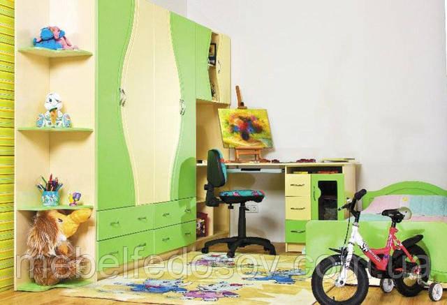 мебель для детской комнаты эколь бмф