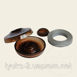 Термошайба для монтажа поликарбоната ТМС25 (Украина) прозрачный,бронзовый