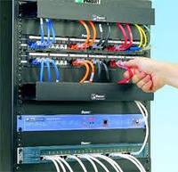 Монтаж локальной компьютерной и телефонной сети.