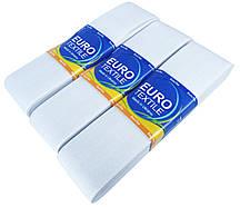 "Резинки для одежды ""EuroTextile"" (50mm/5m) белые, тесьма эластичная полиэстер"