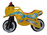 Каталка Мотоцикл, цвет желтый