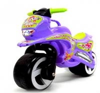 Каталка Мотоцикл, цвет фиолетовый + каска