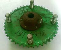 Механизм предохранительный выгрузного шнека 34-6-2-1 БТ