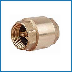 Клапан латунный муфтовый Ду 25