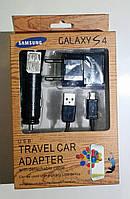 Galaxy S4 3in1 сзу+азу+usb 5v 1000/700 mA black