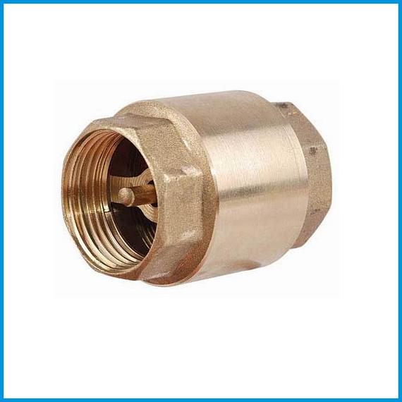 Клапан латунный муфтовый Ду 50